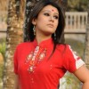 Red White Salwar Kameez